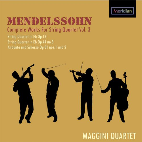 Mendelssohn Quartets for Meridian